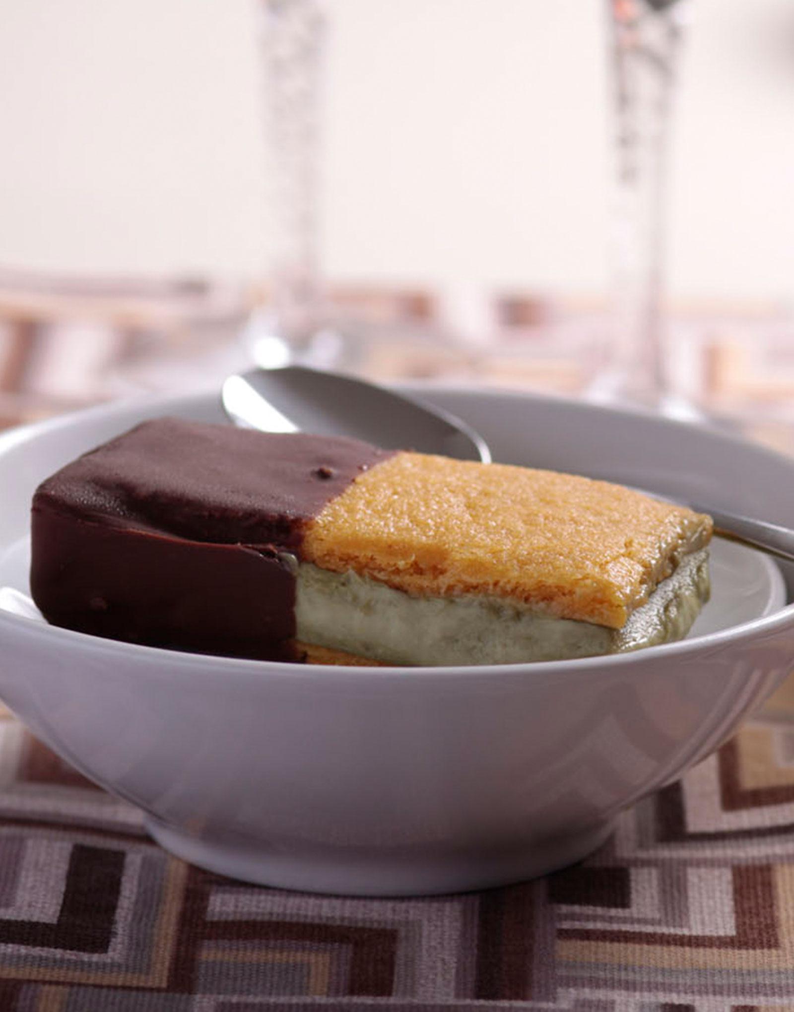 Tesorino (pistacchio) biscotto gelato