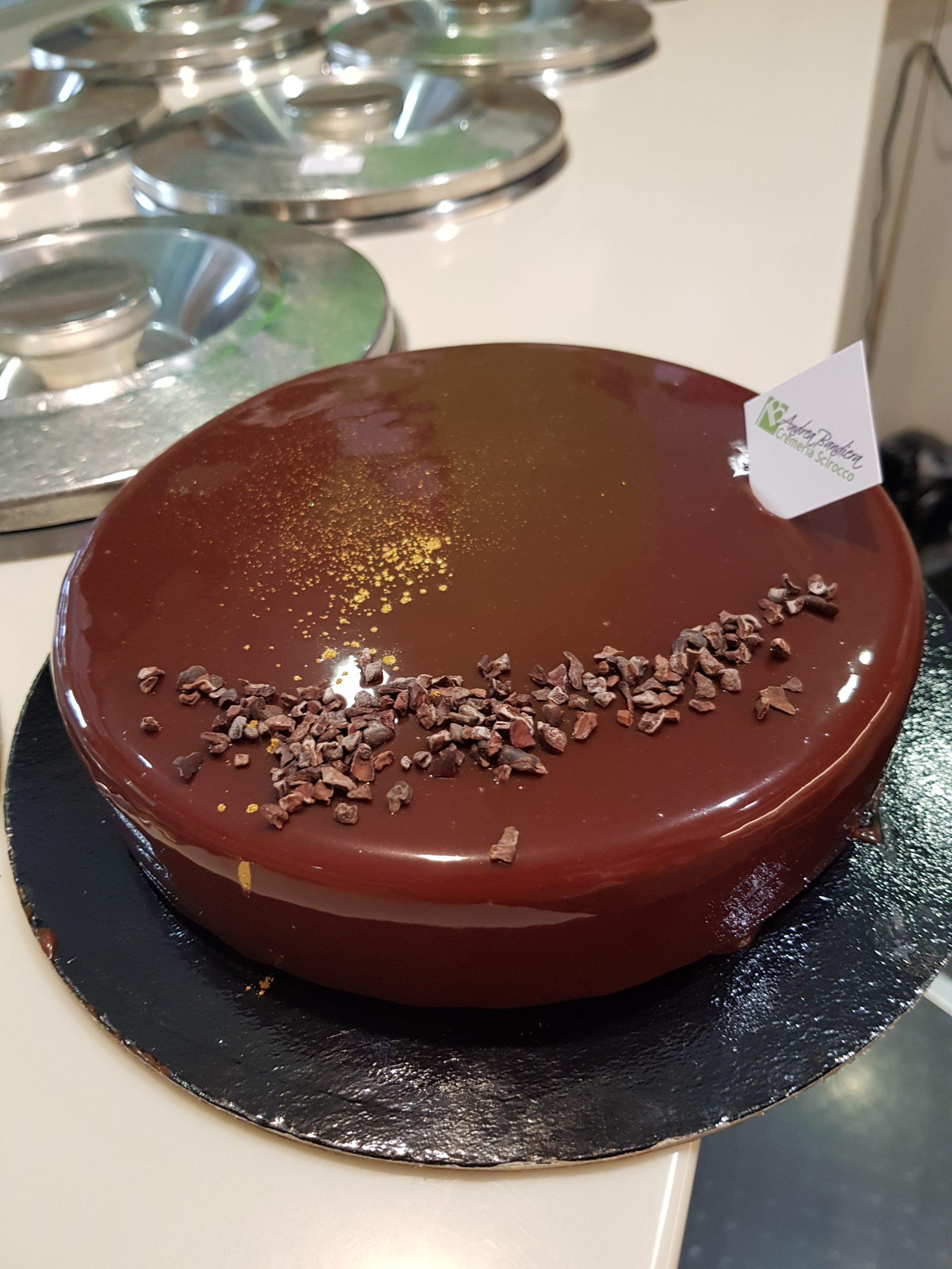 torta semifreddo 100% cioccolato